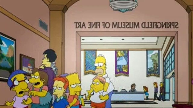 The Simpsons Season 29 Episode 12 Homer Is Where the Art Isn't