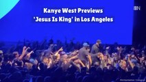 Kanye West Gives A 'Jesus Is King' Preview