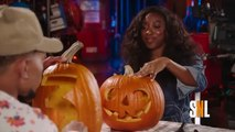 SNL Host Chance The Rapper Is A Pumpkin-Carving Champ
