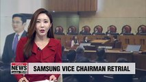 Retrial of Samsung Electronics vice chairman to start Friday