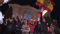 Un centenar de personas asisten a la misa del dictador