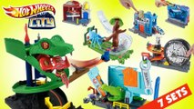 Hot Wheels City Super 7-in-1 Compilation    Keith's Toy Box
