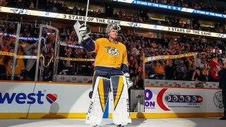 Pekka Rinne blanks Wild with 26-save shutout