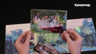[Unboxing] ARIAZ 1st Mini Album