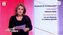 Invité : Fabienne Keller - Bonjour chez vous ! (25/10/2019)