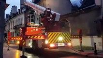 Incendie à Dijon : neuf personnes évacuées dont un enfant