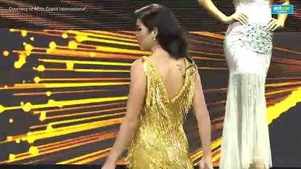 Samantha Lo shows off Maria Clara walk at Miss Grand International 2019 preliminaries
