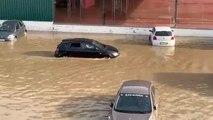Étonnant : la rue de Limbourg sous eau à Verviers
