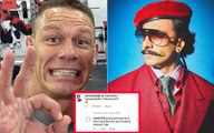 Ranveer Singh comments on John Cena's Ric Flair post