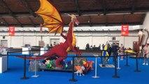 Bruxelles : Brick Live, l'expositio Lego interactive á Tour & Taxi (vidéo Germani)