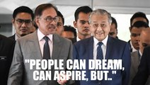 People can aspire to be PM but it won't scuttle the process, says Anwar on power transition