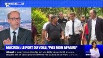 """Macron: le port du voile, """"pas mon affaire"""" - 25/10"""
