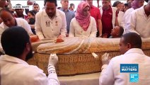 Back from the dead: 30 ancient Egyptian coffins with mummies found in Luxor