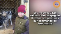 Un enfant de 9 ans peint des tableaux d'animaux pour une raison bouleversante…