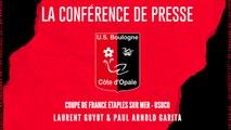 [NATIONAL] CDF 6ème TOUR Confrence de presse avant match Etaples sur mer - USBCO