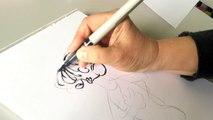 Comment dessiner _Filles des oiseaux - tome 2_, la lecon de dessin de Florence Cestac [Tutoriel]