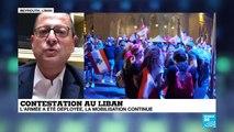 """Pascal Monin: """" Ce qu'il se passe au Liban est historique"""""""