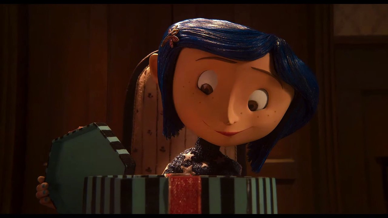 Coraline Movie Clip Button Eyes Video Dailymotion