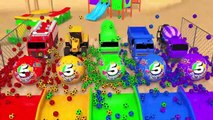 Street Vehicles Toys Assemble Cars Fruit Wheel Pretend Play with Learn Colors for Kids