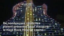 Hard Rock inaugure un immense hôtel en forme de guitare en Floride
