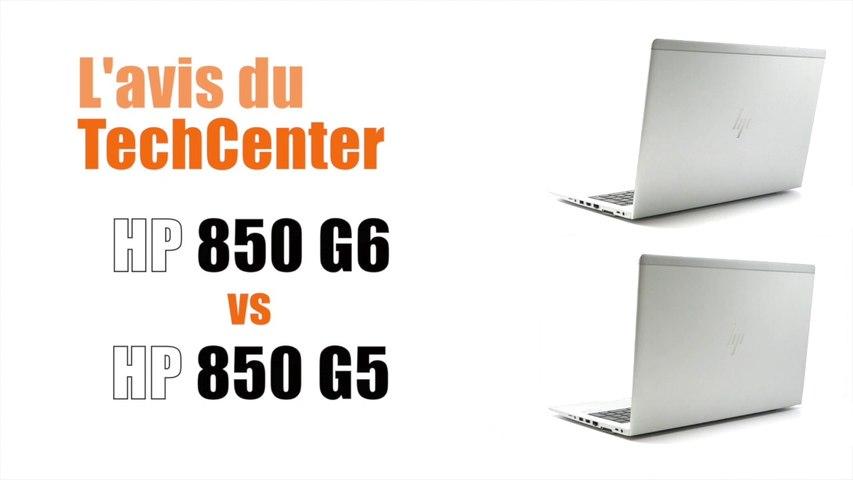 En Direct du TechCenter CELERIS : HP 850 G6 vs HP 850 G5