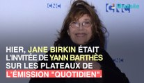Jane Birkin évoque son penchant pour l'alcool !