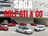 La saga des Volkswagen Golf GTI !
