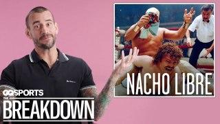 C.M. Punk Breaks Down Wrestling Scenes from Movies