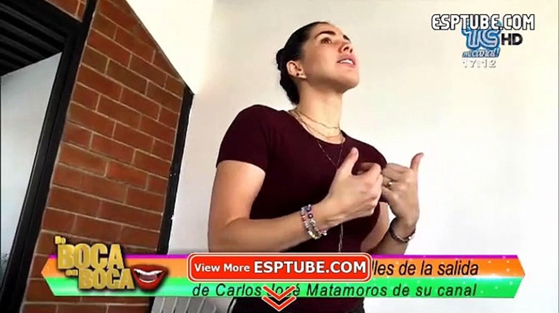 Karin Barreiro dio sorprendentes declaraciones sobre la salida de Carlos José Matamoros de su canal