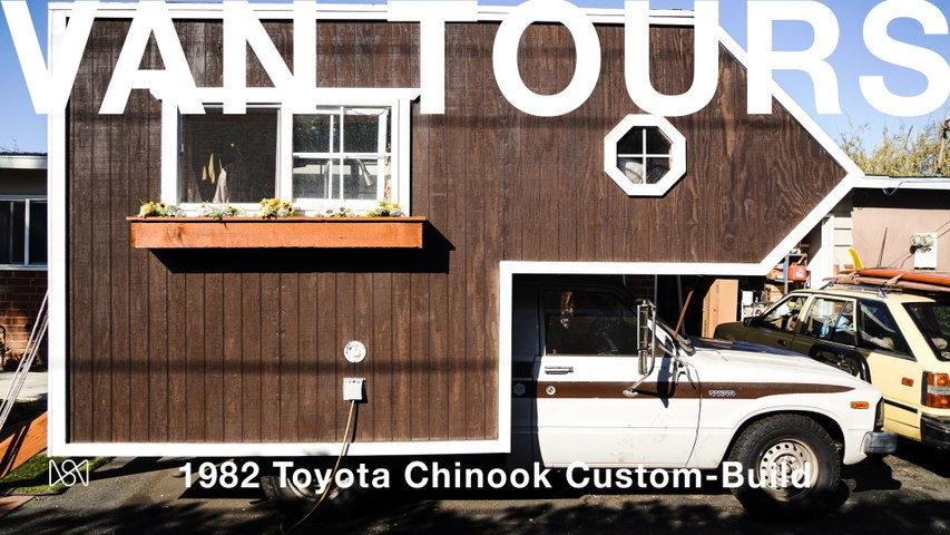 Van Tours: Ryder England's 1982 Toyota Chinook