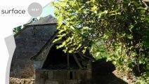 CORREZE. Brignac La Plaine. Belle maison en pierre à rénover avec grange en pierre, four à pain en pierre et terrain de 8 055 m2. Une vue imprenable.