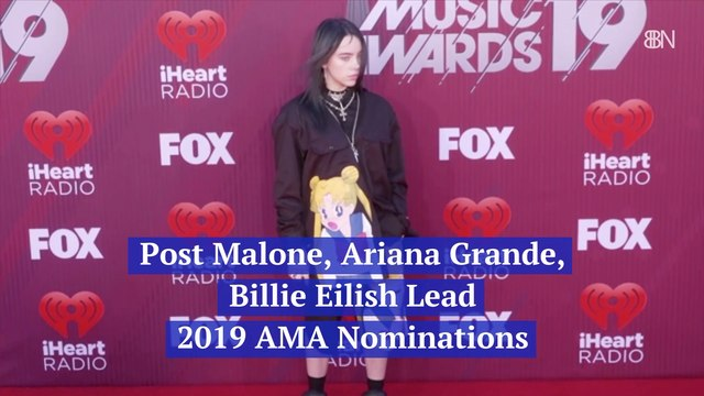 The Stars Of The 2019 AMA Nominations