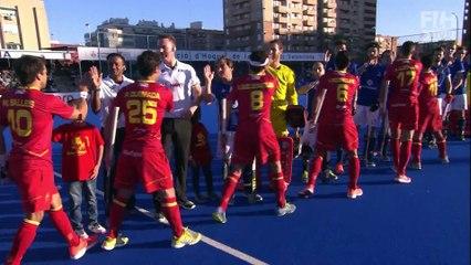 Highlights 1er match Espagne-France
