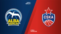 ALBA Berlin - CSKA Moscow Highlights | Turkish Airlines EuroLeague, RS Round 4