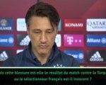 """9e j. - Kovac : """"La blessure de Lucas Hernandez due à sa sélection? Je ne peux pas le dire"""""""