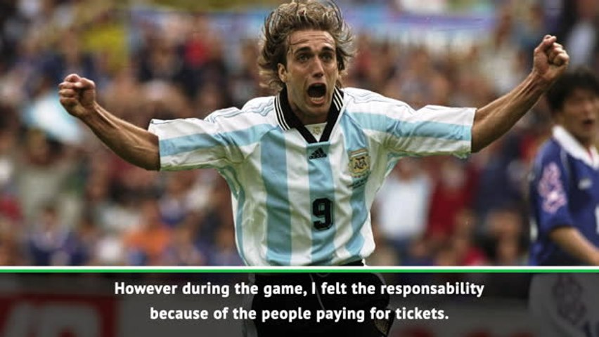 Football was never about entertainment for Batistuta