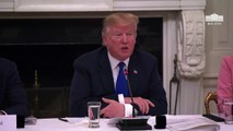 Trump Tweets To Tim: 'Button On The iPhone Was Far Better Than' Swipe