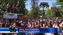 Noticias internacionales: Chile vivió multitudinaria protesta y se confirma victoria de Evo Morales en Bolivia