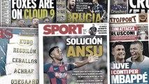 Le cas Ansu Fati fait parler au Barça, l'Angleterre dans tous ses états après le 9-0 entre Leicester et Southampton
