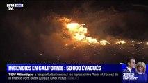 Près de Los Angeles, un violent incendie menace des milliers d'habitations