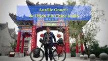 Dijon - Pékin à vélo : Aurélie Gonet est arrivée en Chine