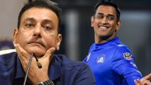 Ravi shastrislams people who commenting on dhoni retirement