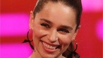 Emilia Clarke Reunites With Jason Momoa And More