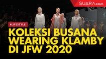 Debut di JFW 2020, Wearing Klamby Sajikan Desain Kilau Rempah era Kolonial