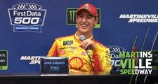 Logano: 'Putting the band back together' with pit crew change