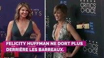 Felicity Huffman libérée : l'actrice de Desperate Housewives est sortie de prison