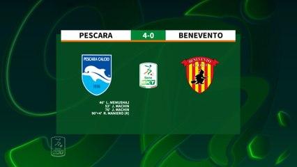 HIGHLIGHTS #PescaraBenevento 4-0 #SerieBKT