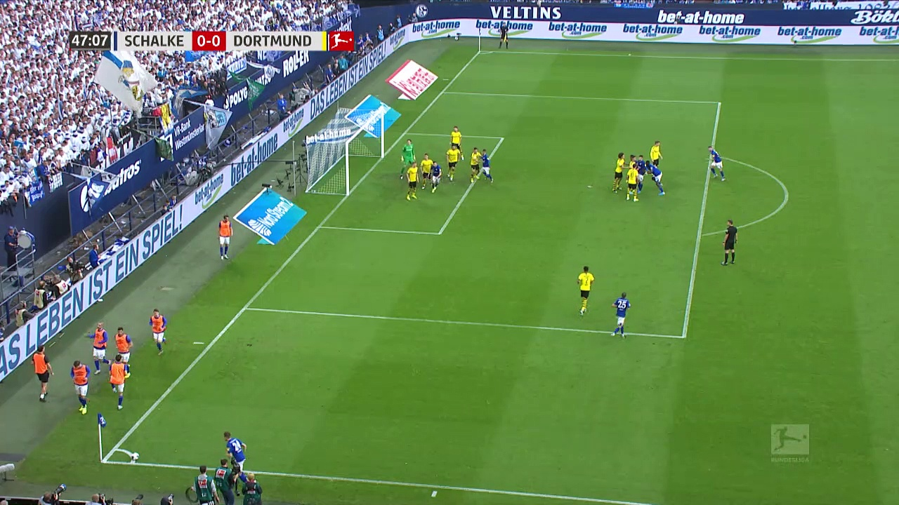 9. Hafta / Schalke 04 - Borussia Dortmund: 0-0 (Özet)