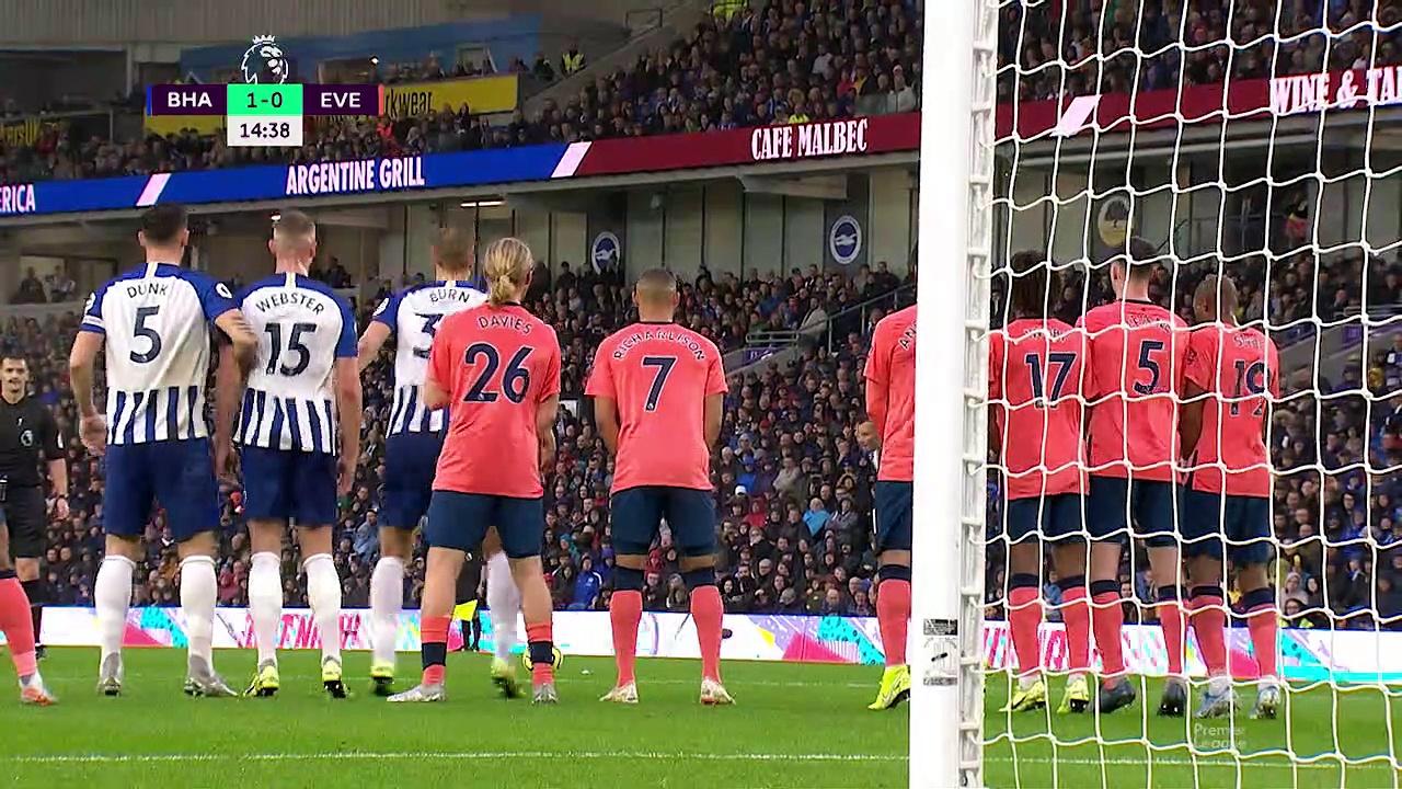 10. Hafta / Brighton - Everton: 3-2 (Özet)