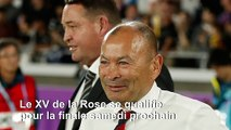 Mondial de rugby: le XV de la Rose met fin au règne noir